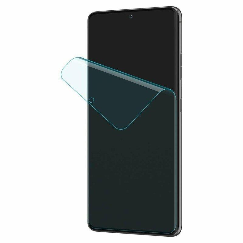 [Pachet 2x] Folie Samsung Galaxy S21 Ultra 5G Spigen Neo Flex HD - Clear