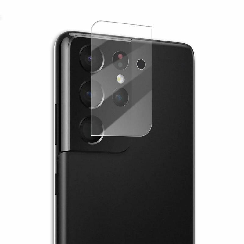 Folie Sticla Camera Samsung Galaxy S21 Ultra 5G Mocolo Back Lens 9H - Clear