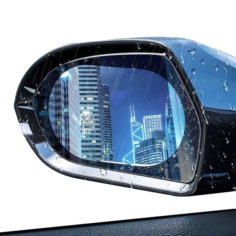 [Pachet 2x] Folie Auto Oglinda Retrovizoare Anticondens Techsuit, 100 x 145mm