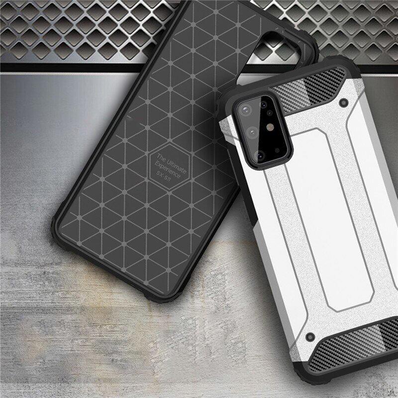 Husa Samsung Galaxy S20 Plus 5G Hybrid Armor - Negru