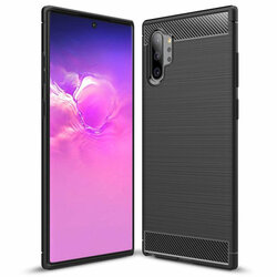 Husa Samsung Galaxy Note 10 Plus TPU Carbon Negru
