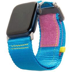 Curea Apple Watch 2 42mm UAG Active Straps LE, albastru-roz