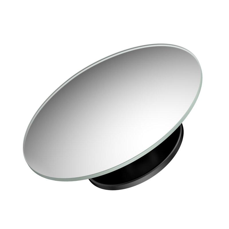 [Pachet 2x] Oglinda Auto Unghi Mort Techsuit Rotunda Pentru Oglinzile Laterale Cu Adeziv, Negru