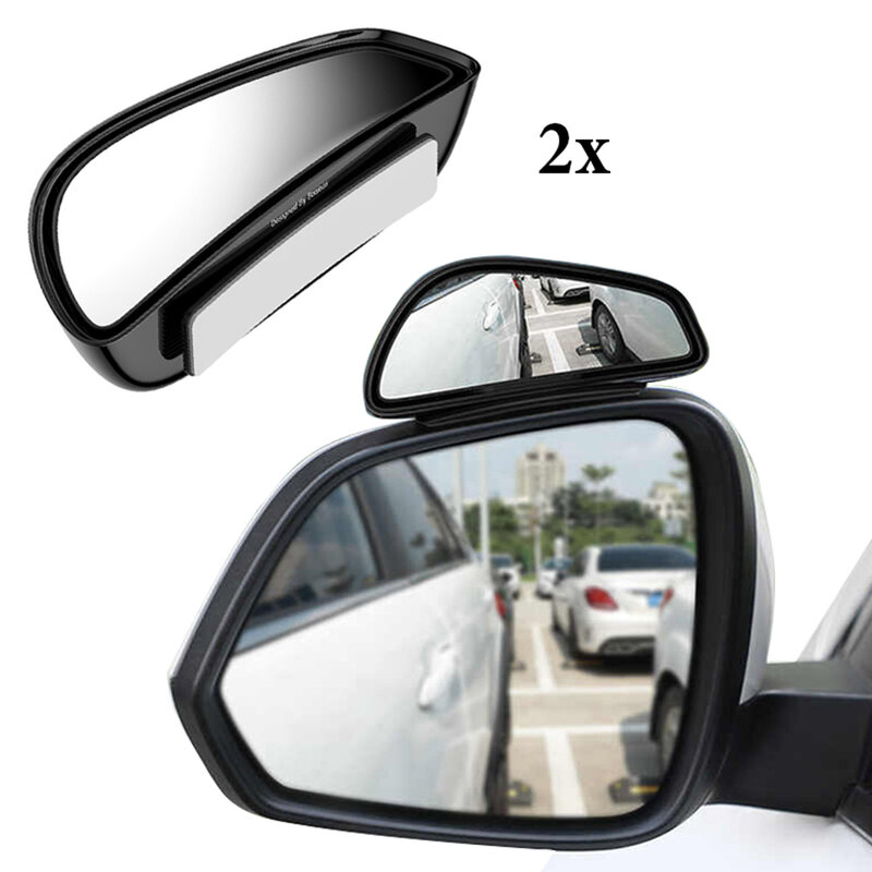 [Pachet 2x] Oglinda Auto Auxiliara Cu Unghi Larg Baseus - ACFZJ-01 - Negru