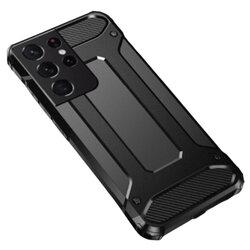 Husa Samsung Galaxy S21 Ultra 5G Hybrid Armor - Negru