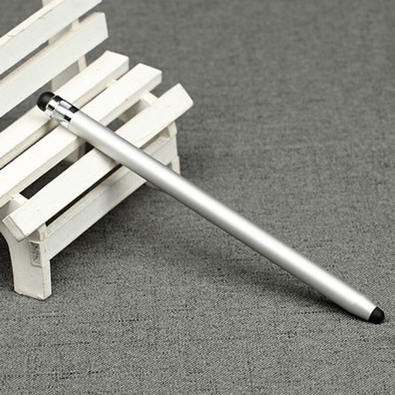 Stylus Pen Techsuit, 2in1 Universal, Android, iOS, Aluminiu, Argintiu, JC01