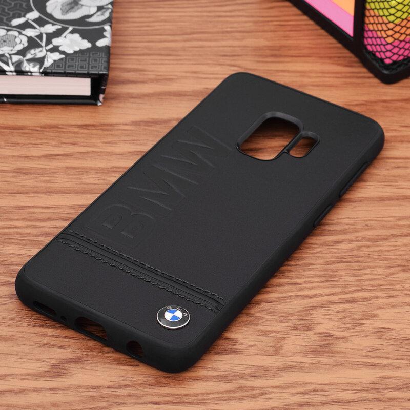 Bumper Samsung Galaxy S9 BMW - Negru BMHCS9LLSB