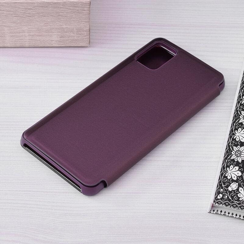 Husa Samsung Galaxy A51 Flip Standing Cover - Purple
