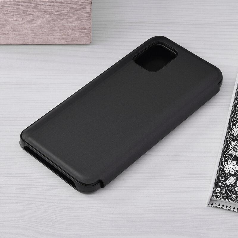 Husa Xiaomi Mi 10 Lite Flip Standing Cover - Black