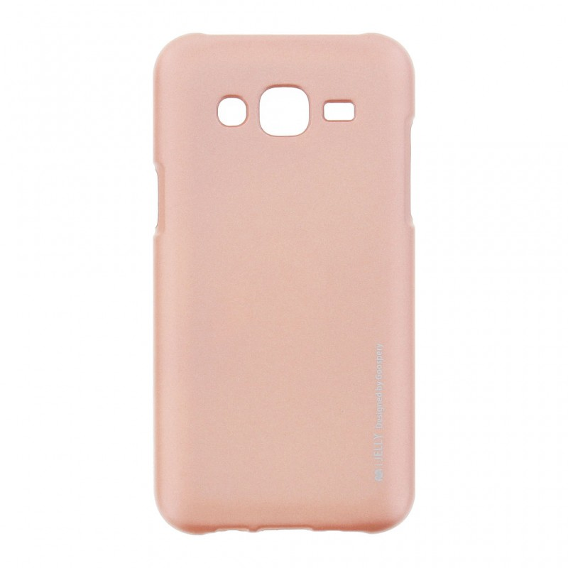 Husa Samsung Galaxy J5 SM-J500 Mercury i-Jelly TPU - Rose Gold