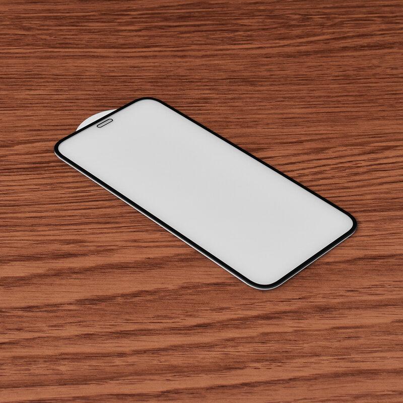 Folie Sticla iPhone 12 mini Mocolo 3D Full Cover - Black