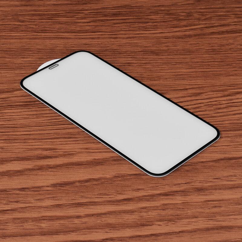 Folie Sticla iPhone 12 Pro Mocolo 3D Full Cover - Black