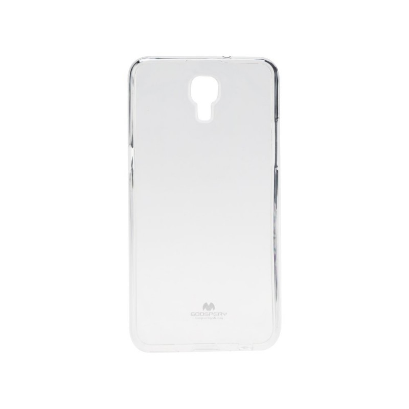 Husa LG X Screen Goospery Jelly TPU Transparent