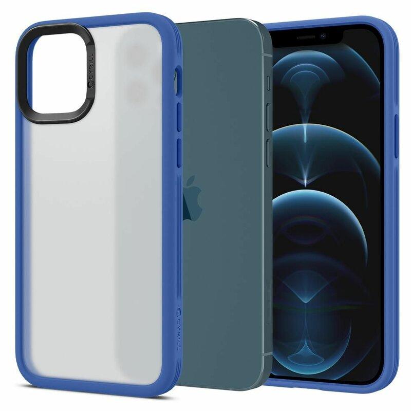 Husa iPhone 12 Spigen Ciel by Cyrill Color Brick - Navy