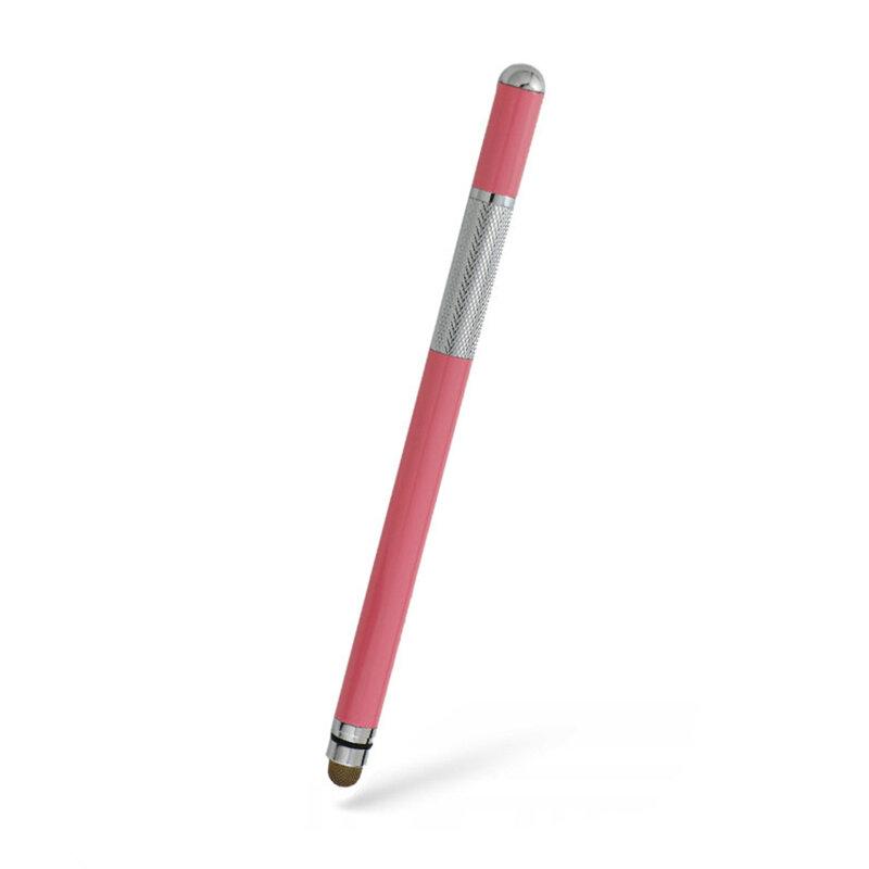 Stylus Pen Techsuit, Universal, Android, iOS, Aluminiu, Roz, JC03