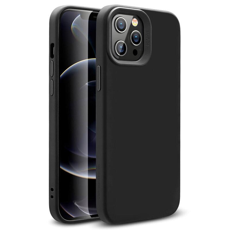 Husa iPhone 12 Pro Max ESR Cloud Halolock, compatibila MagSafe - Negru