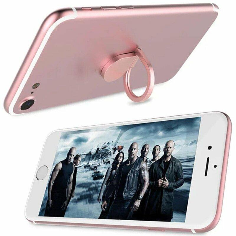 Suport Telefon/Tableta Water-Drop Ring - Pink