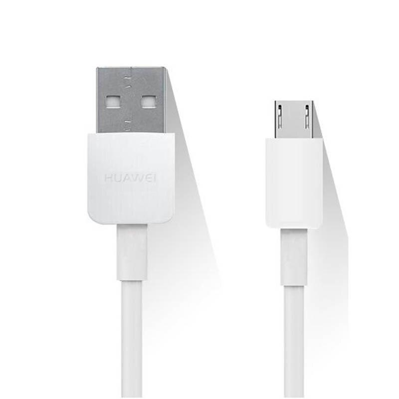 Cablu de date original Huawei USB la Micro-USB, 2A, 1m, alb, bulk, C02450768A