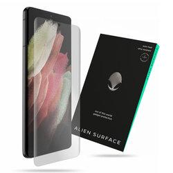 Folie Regenerabila Samsung Galaxy S21 Ultra 5G Alien Surface Case Friendly - Clear