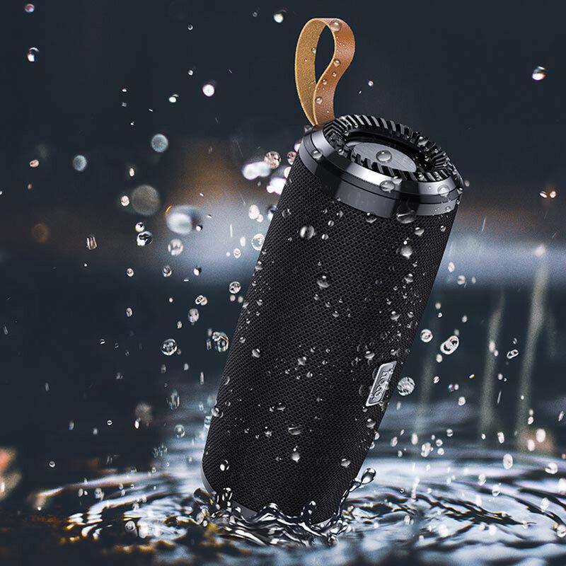 Boxa portabila Hoco BS38, TWS, waterproof, Bluetooth, Micro-SD, USB, FM, negru