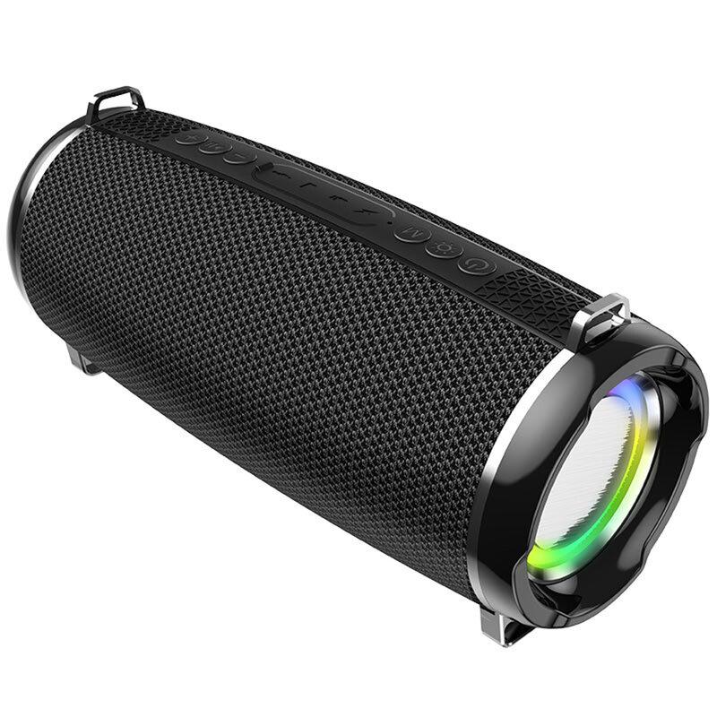 Boxa portabila Hoco HC2, TWS, waterproof, Bluetooth, Micro-SD, USB, FM, negru