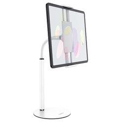 Suport telefon, tableta Birou Hoco PH30, stand universal reglabil, alb