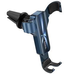 Suport telefon auto Hoco CA71, prindere grila de ventilatie, albastru
