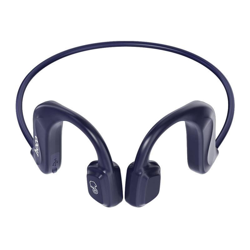 Casti wireless Hoco ES50, TWS earbuds, Bluetooth, microfon, albastru