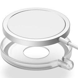 Husa incarcator iPhone 12 wireless MagSafe, Ringke, transparent