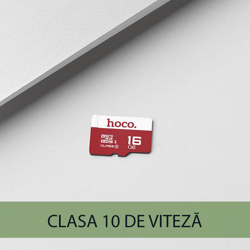 Card de memorie Clasa 10 Hoco Micro SDHC 16 GB