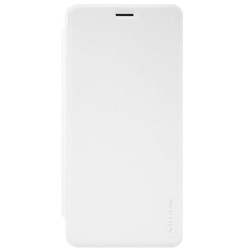 Husa OnePlus 3, 3T NILLKIN Sparkle Flip Alb