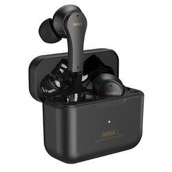 Casti wireless Remax TWS-27, earbuds, Bluetooth, negru