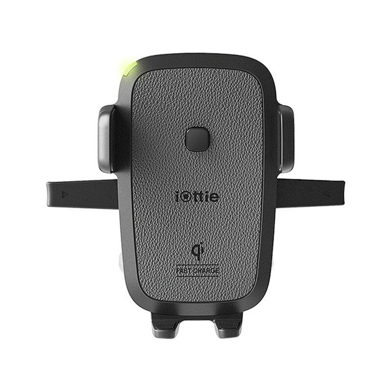 Suport telefon auto IOttie EOT wireless pentru bord, parbriz, negru