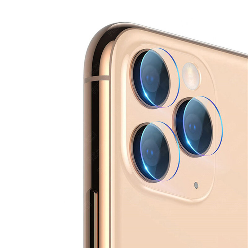 Folie Camera iPhone 11 Pro Max Mocolo Back Lens 9H - Clear