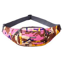 Borseta Sport Multifunctionala Army Camouflage Bag Cu 3 Buzunare - Pink