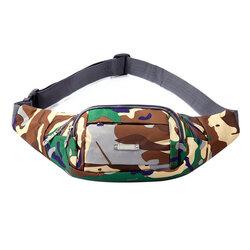 Borseta Sport Multifunctionala Army Camouflage Bag Cu 3 Buzunare - Brown