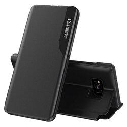 Husa Samsung Galaxy S8 Eco Leather View Flip Tip Carte - Negru