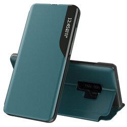 Husa Samsung Galaxy S9 Plus Eco Leather View Flip Tip Carte - Verde