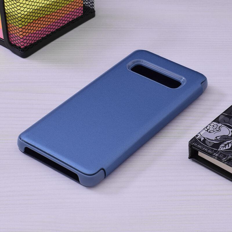 Husa Samsung Galaxy S10 Flip Standing Cover - Blue