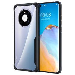 Husa Huawei Mate 40 Pro Mobster Glaast Series Transparenta - Negru