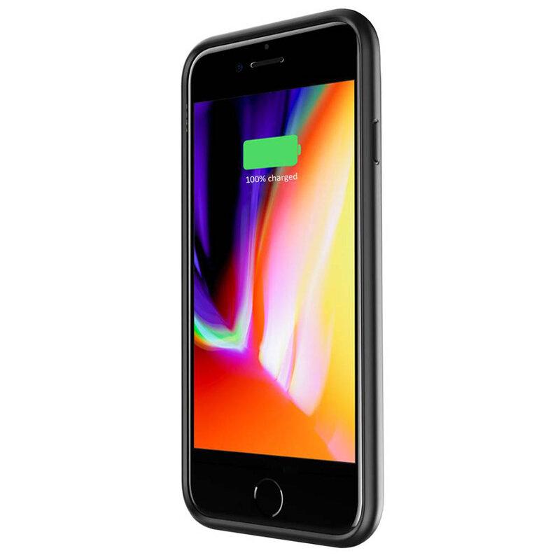 Husa Cu Baterie iPhone 6 / 6S Tech-Protect Battery Pack 3200mAh - Negru