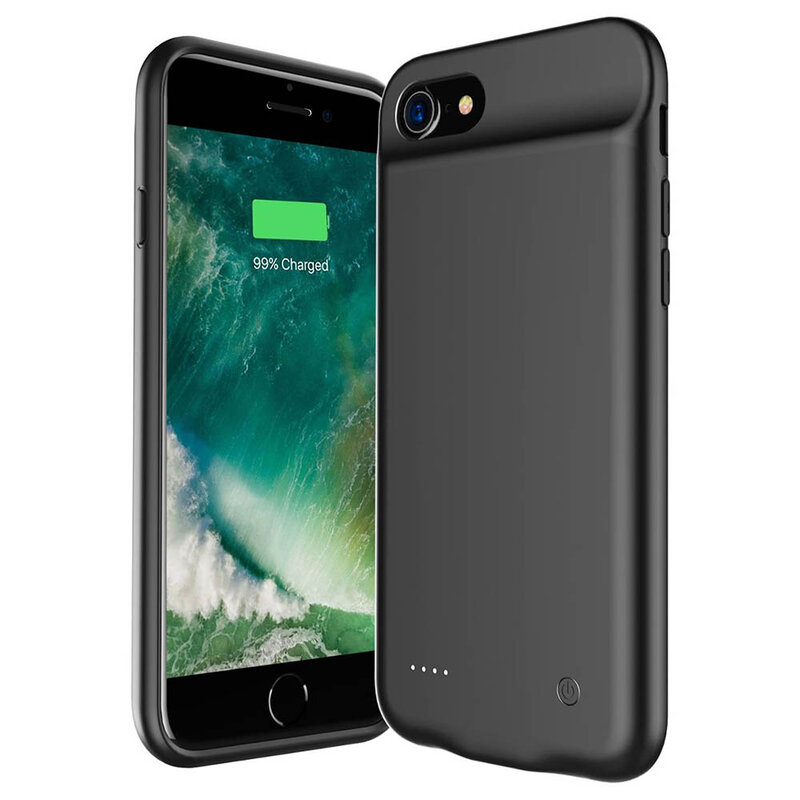 Husa Cu Baterie iPhone 8 Tech-Protect Battery Pack 3200mAh - Negru