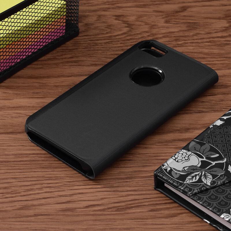 Husa iPhone 7 Flip Standing Cover - Black