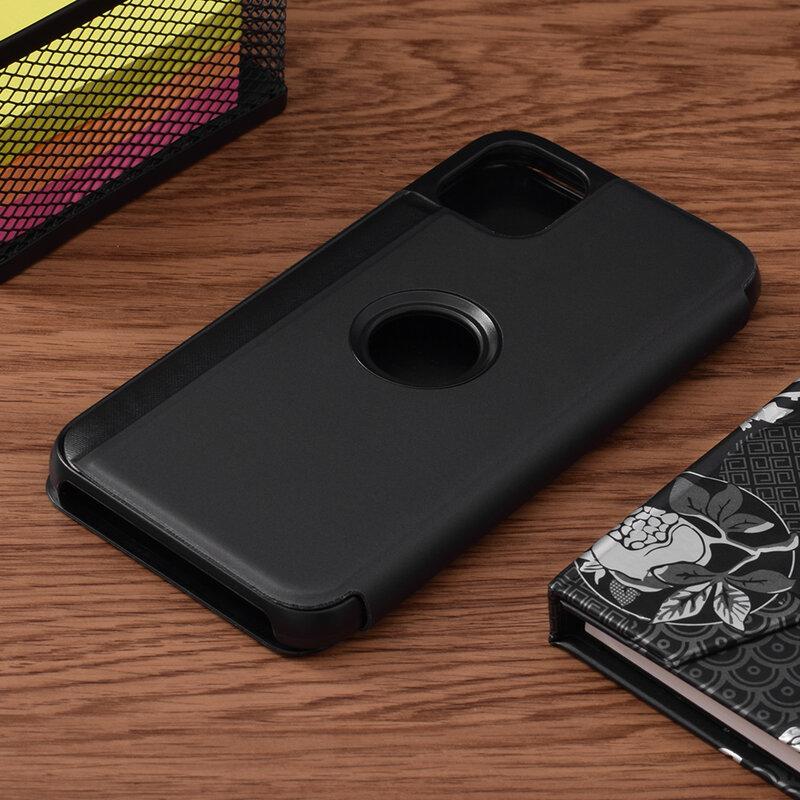 Husa iPhone 11 Flip Standing Cover - Black