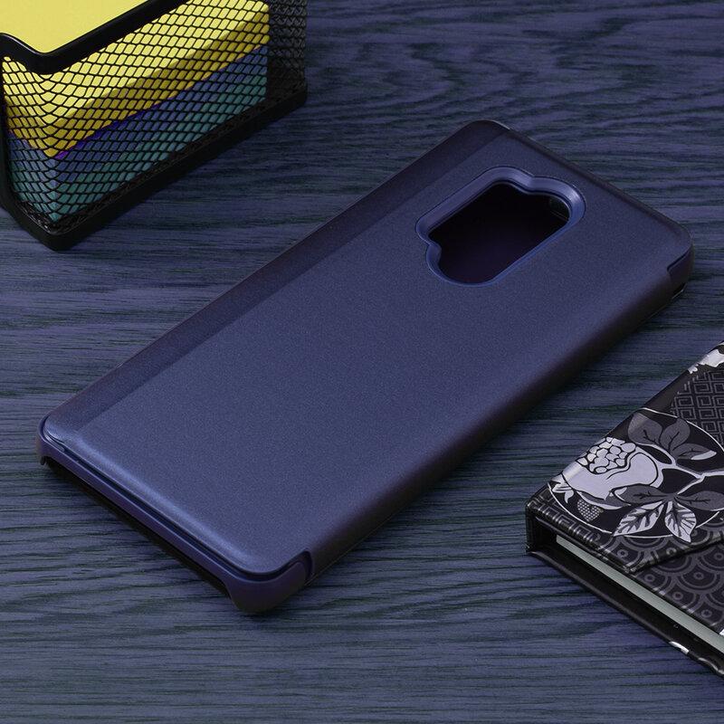 Husa OnePlus 8 Pro Flip Standing Cover - Blue