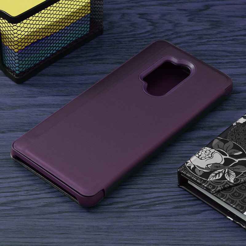 Husa OnePlus 8 Pro Flip Standing Cover - Purple