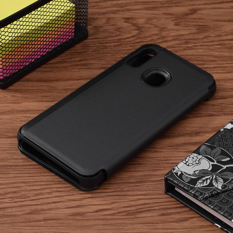 Husa Samsung Galaxy A20e Flip Standing Cover - Black