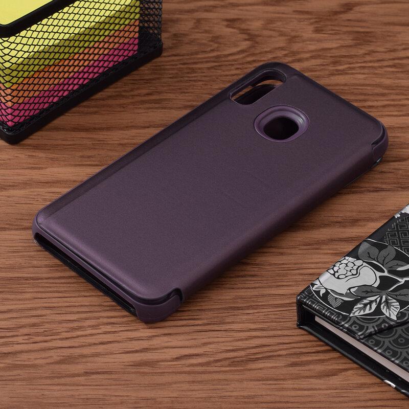Husa Samsung Galaxy A20e Flip Standing Cover - Purple