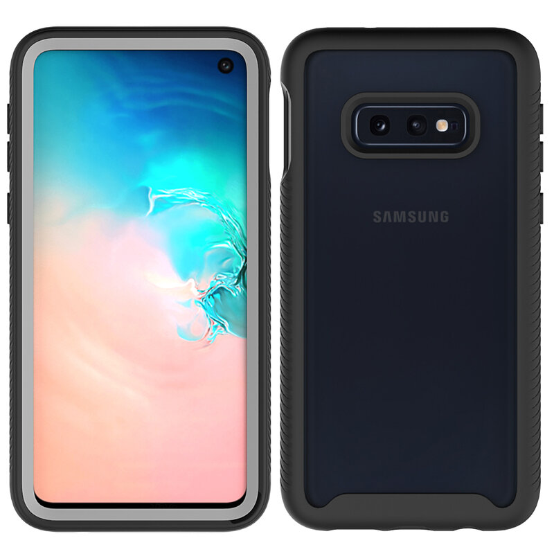 [Pachet 360°] Husa + Folie Samsung Galaxy S10e Techsuit Defense, Negru