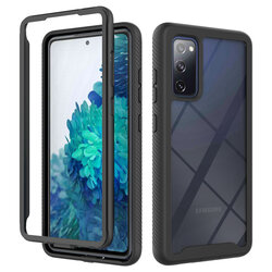 [Pachet 360°] Husa + Folie Samsung Galaxy S20 FE 5G Techsuit Defense, Negru
